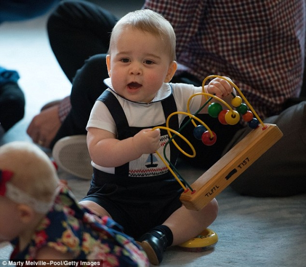 Prince George Sparks Craze For Wool Baby Clothes